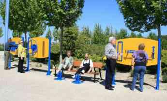 Parques para mayores y Circuitos de estimulación activa