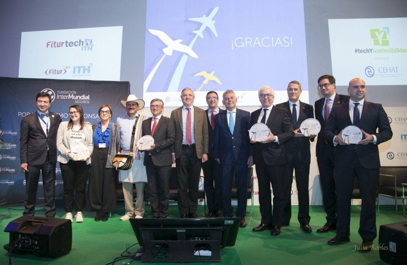 Foto de II Premio Turismo Responsable_ganadores y entregadores