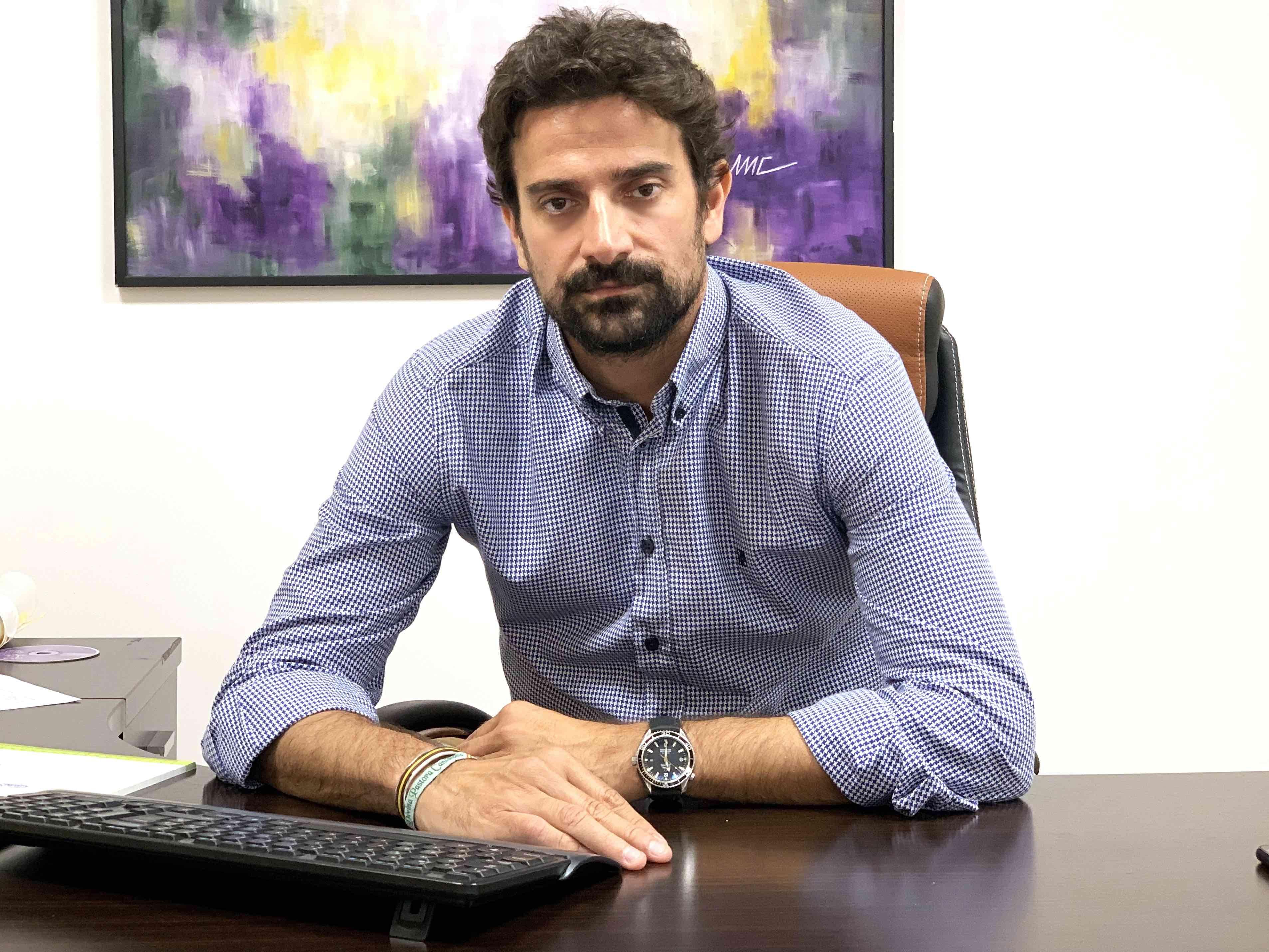 Foto de Julio Aparicio, director general AEOL