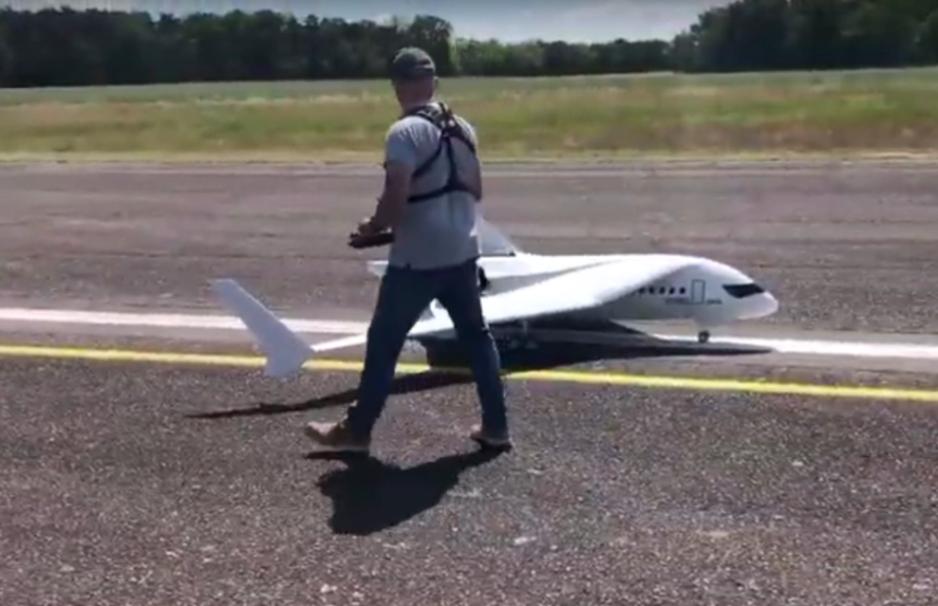 Foto de Primer vuelo de prueba del Link&Fly