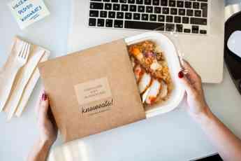 Knoweats, la startup española de comida a domicilio saludable con envases 0% plásticos