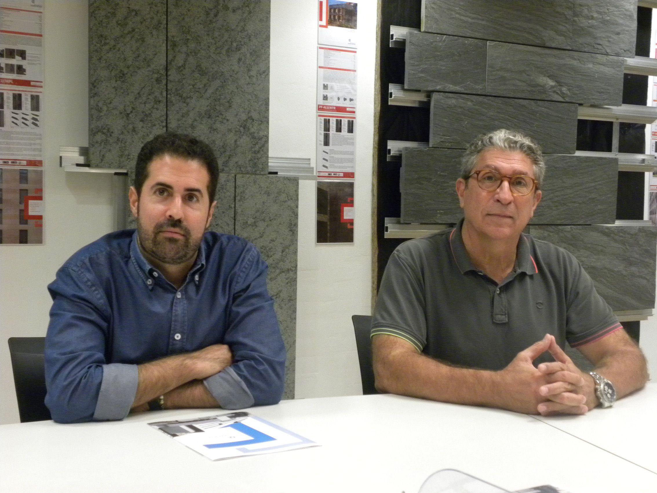 Foto de Eduard Aguiló Balet y Eduard Aguiló Riu, director y