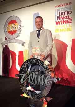 Sergio Martínez: mejor enólogo de España en el  IWC Wine Challenge Merchant Awards Spain 2019