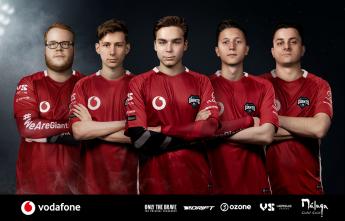 Vodafone Giants Rainbow Six: Siege Team