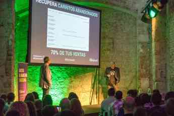 Foto de Ponencia evento Adictos al Marketing 2018