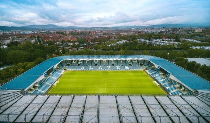 Fotografia Estadio Mendizorroza_Aéreo_Schneider Electric