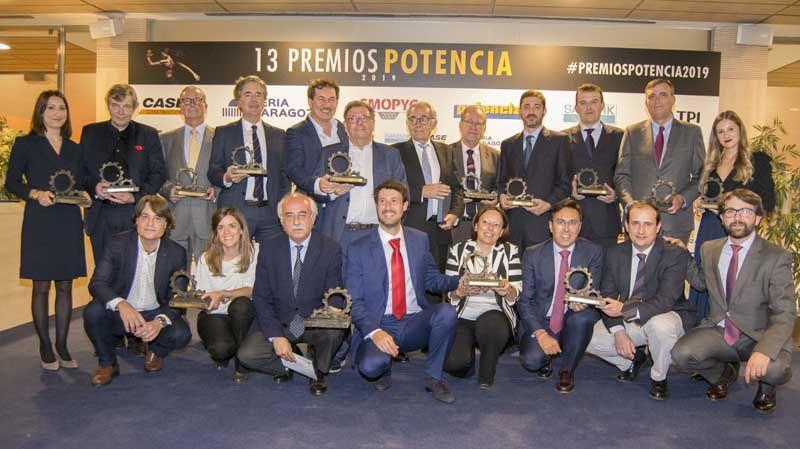 Entregados los Premios Potencia 2019