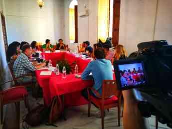 Foto de Jornada de trabajo en la I edición de Travel Bloggers Forum
