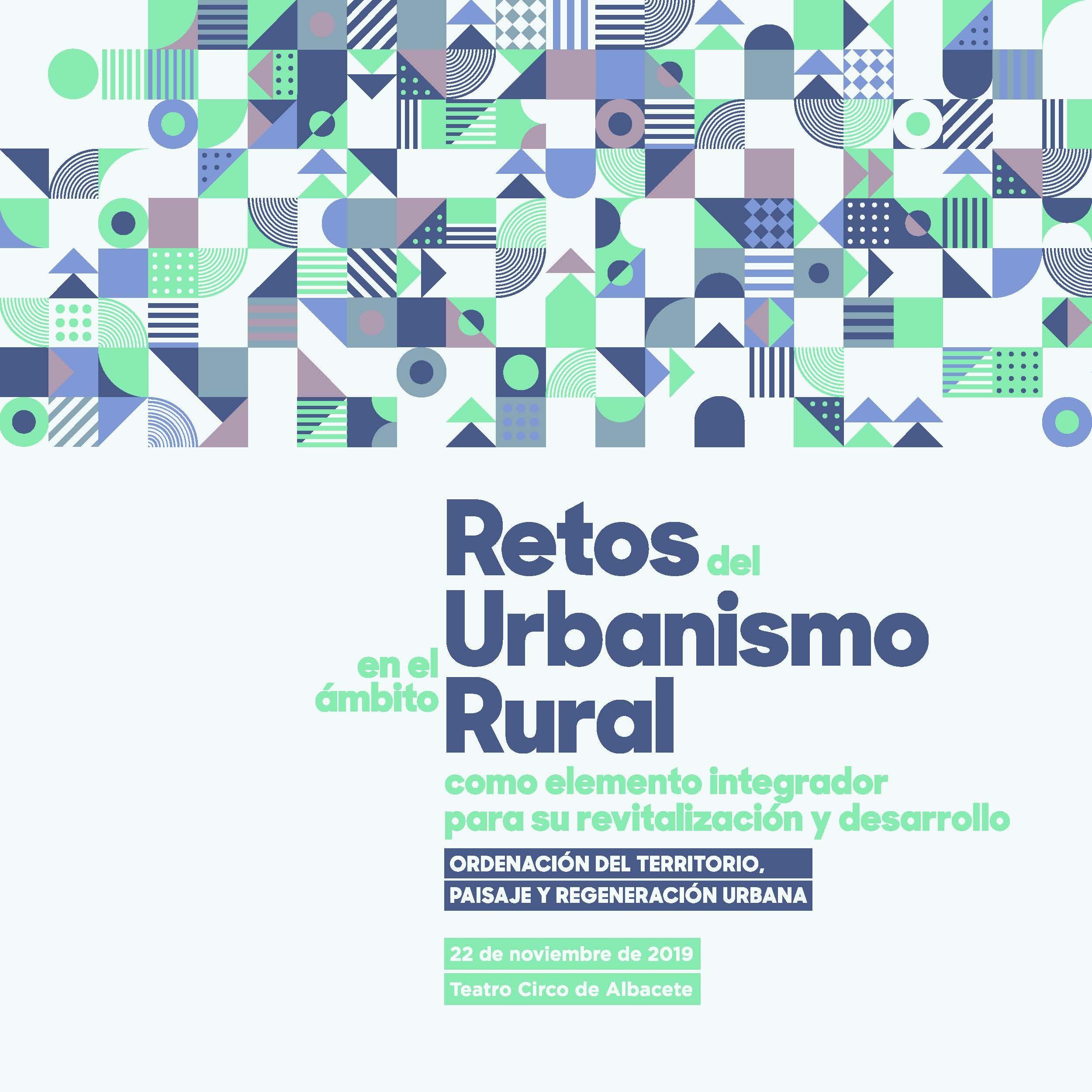 Foto de Cartel Retos del Urbanismo Rural