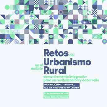 Cartel Retos del Urbanismo Rural