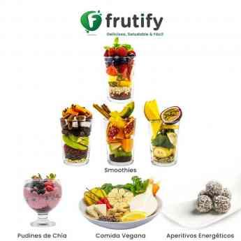 FRUTIFY SUPERALIMENTOS - Smoothies, Comida Vegana, Pudines de Chia, Aperitivos Energeticos