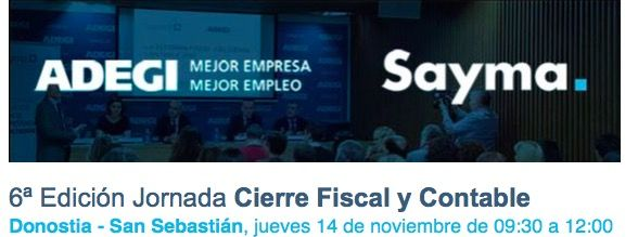 Foto de 6ª Edición Jornada Cierre Fiscal y Contable
