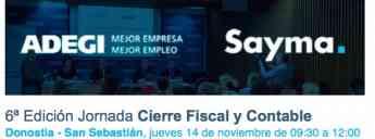 6ª Edición Jornada Cierre Fiscal y Contable