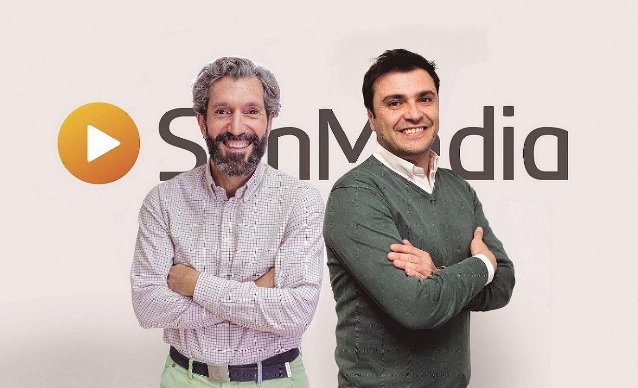 Foto de Alberto Grande (CRO Américas) y Fernando García (CEO