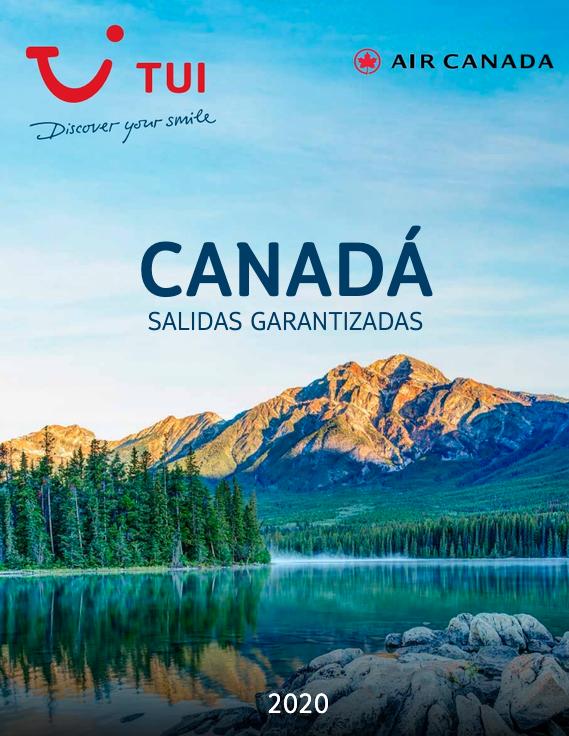 Foto de Catálogo TUI Canadá Salidas Garantizadas 2020