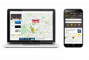 Callejero Páginas Amarillas con nuevo diseño y funcionalidades