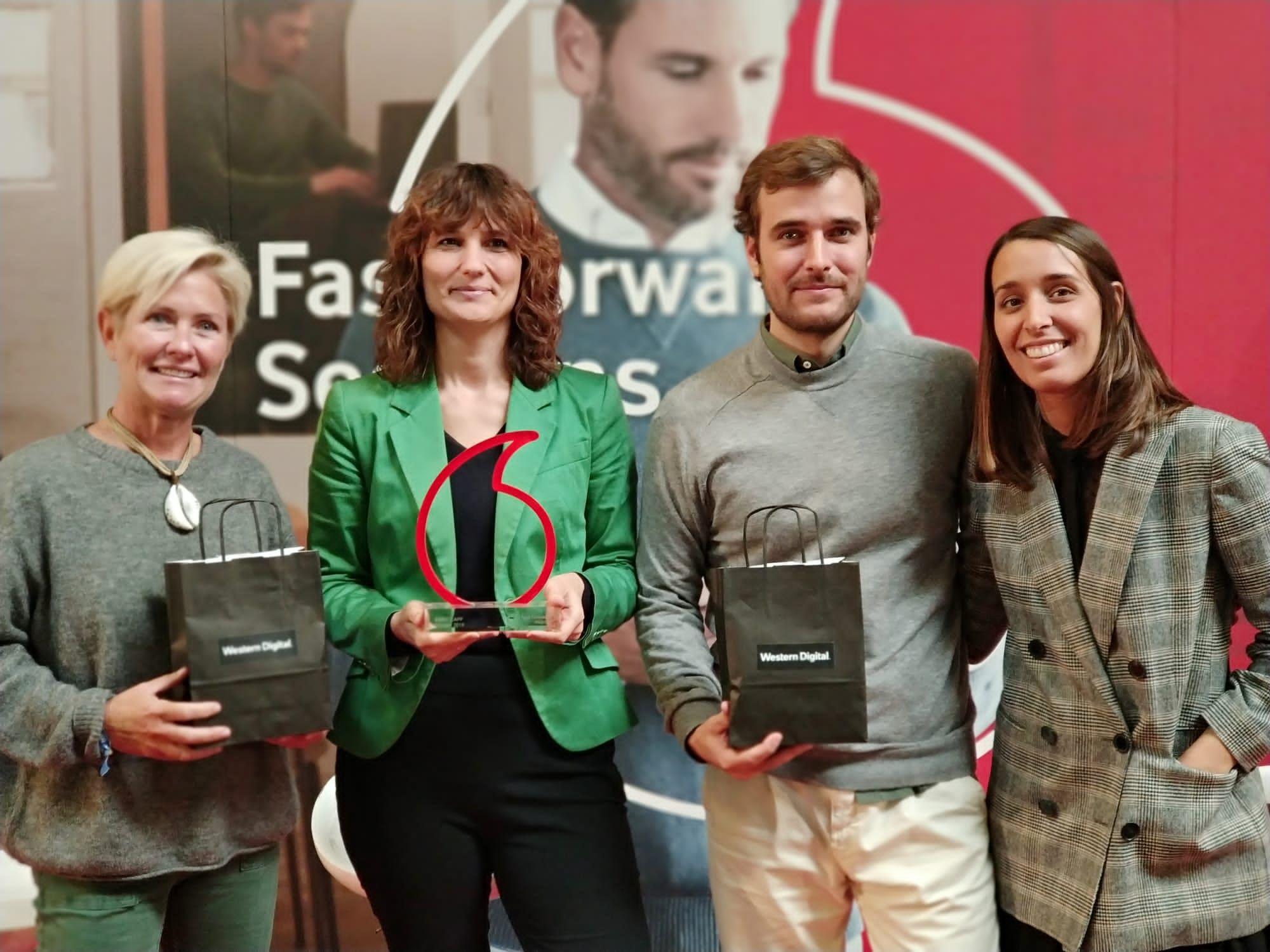 Foto de Ganadora y finalistas de los Fast Forward Award 2019