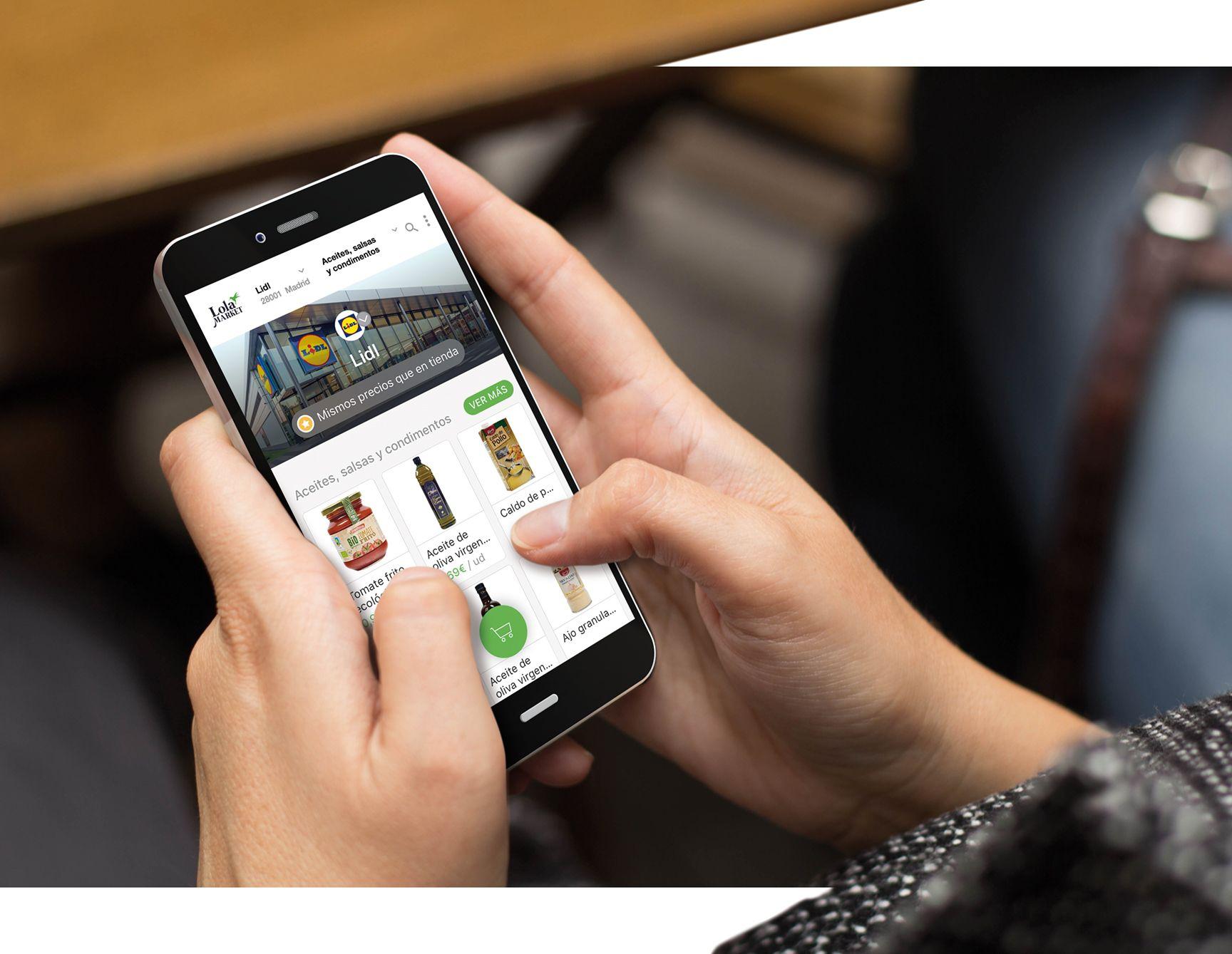 Lola Market y Lidl amplían su servicio a Barcelona y Valencia para la compra online de productos,