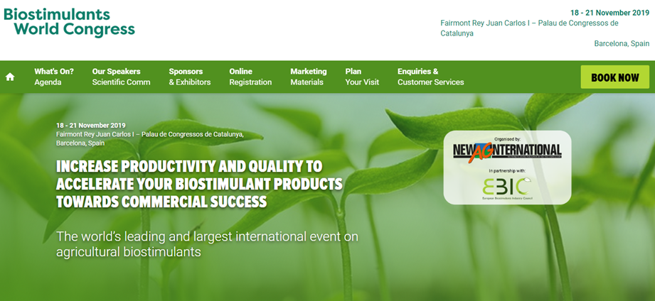 Symborg, patrocinador del Biostimulants World Congress