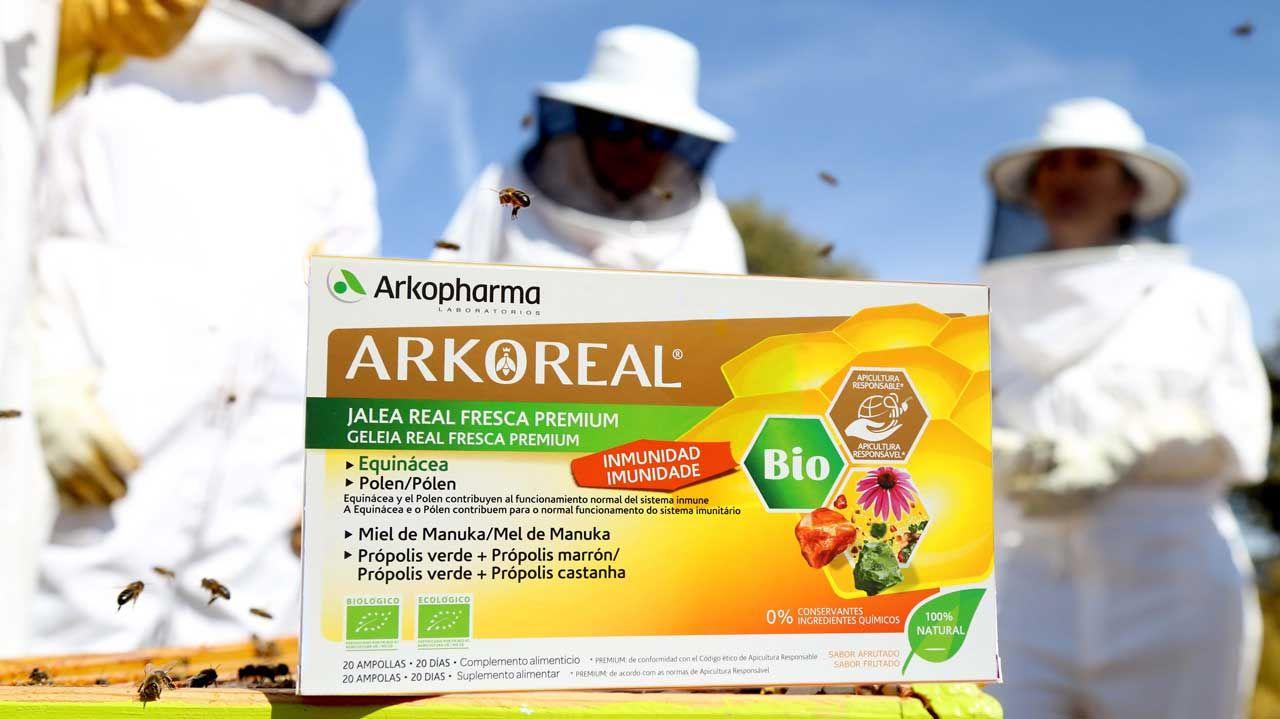 Arkoreal, primera jalea real en recibir la certificación de Apicultura Responsable