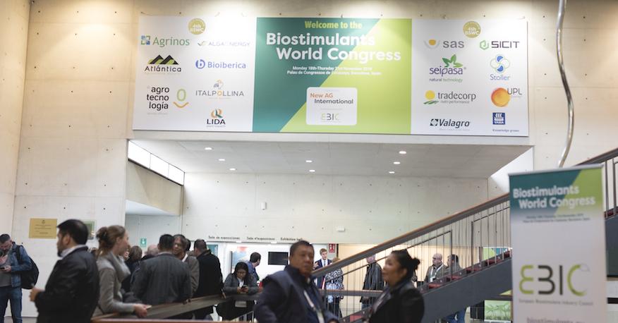 Comienza con éxito el IV Biostimulants World Congress 2019 en Barcelona (España)