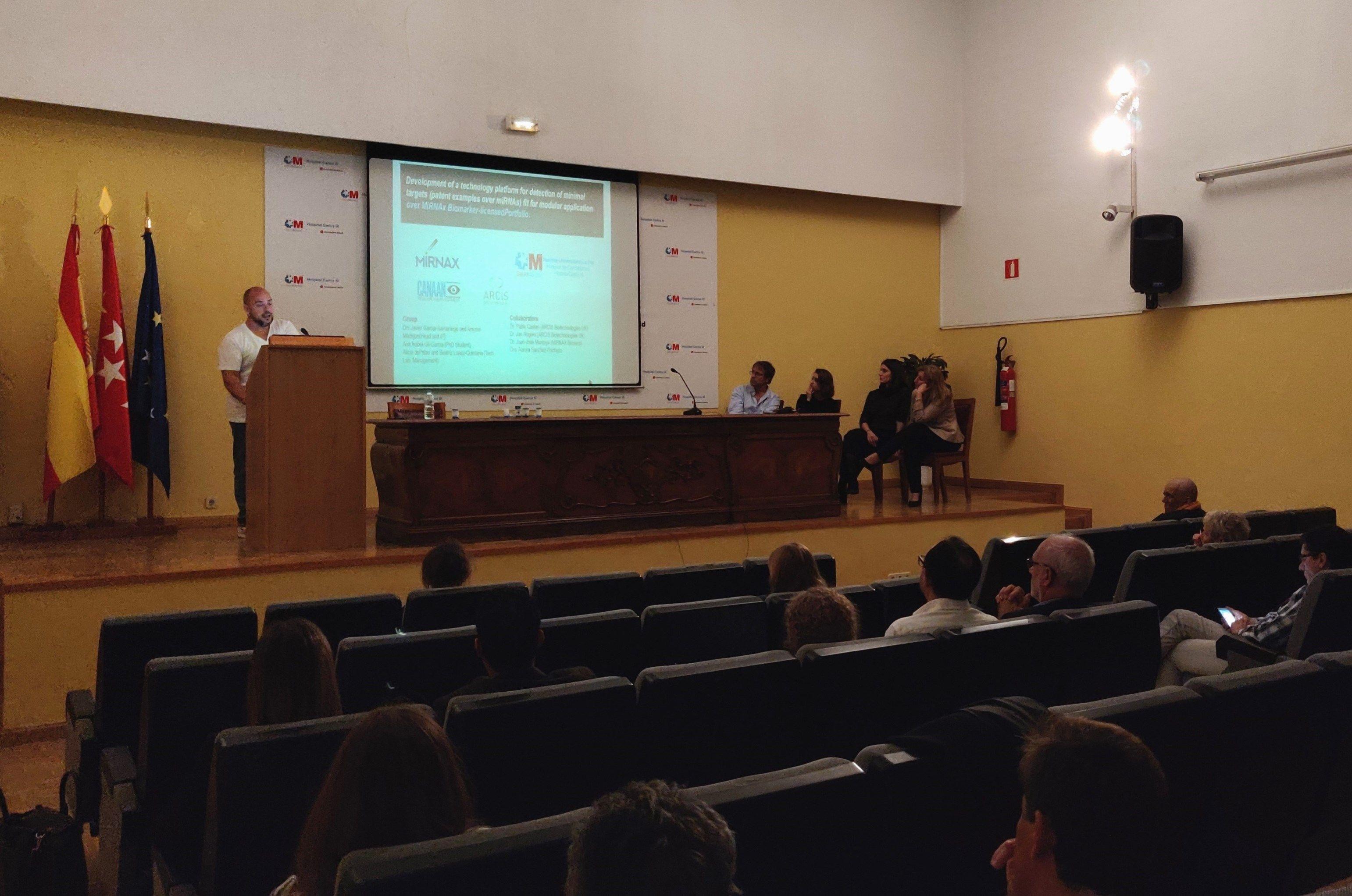 Foto de Pablo Castán, Science Advisor de Mirnax, en una reciente