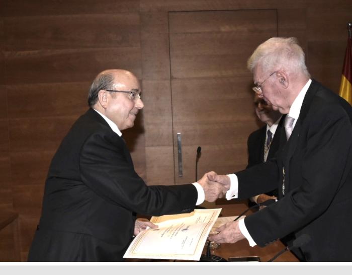 Foto de Premio Academicae Dilecta_Manuel Torres y Antonio Colino