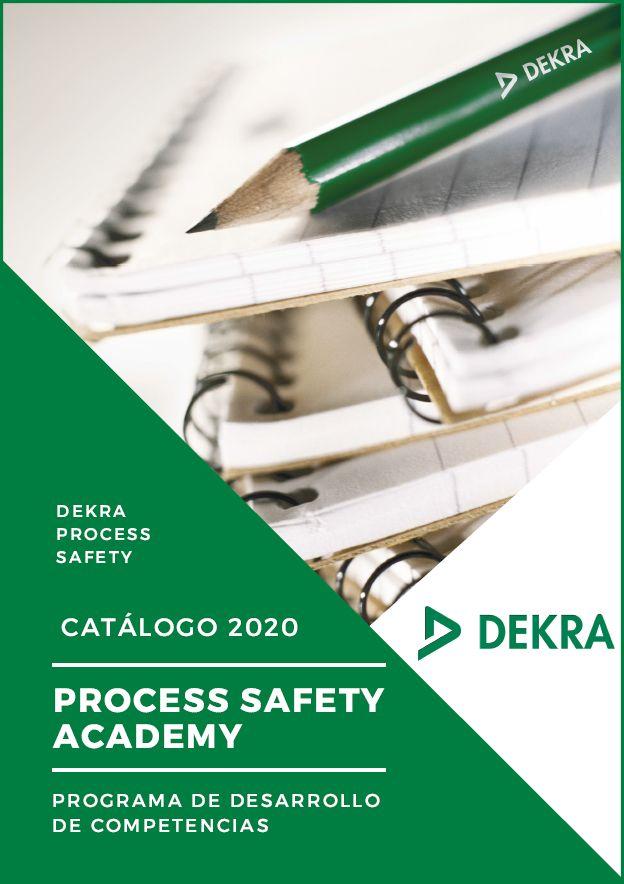 Foto de Catálogo de formación DEKRA Process Safety 2020