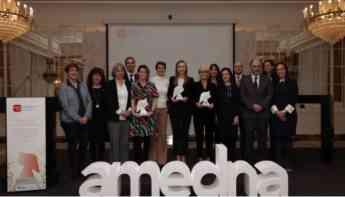 Entrega de premios Amedna