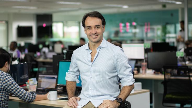 Foto de Sergio Furio, fundador y CEO de Creditas