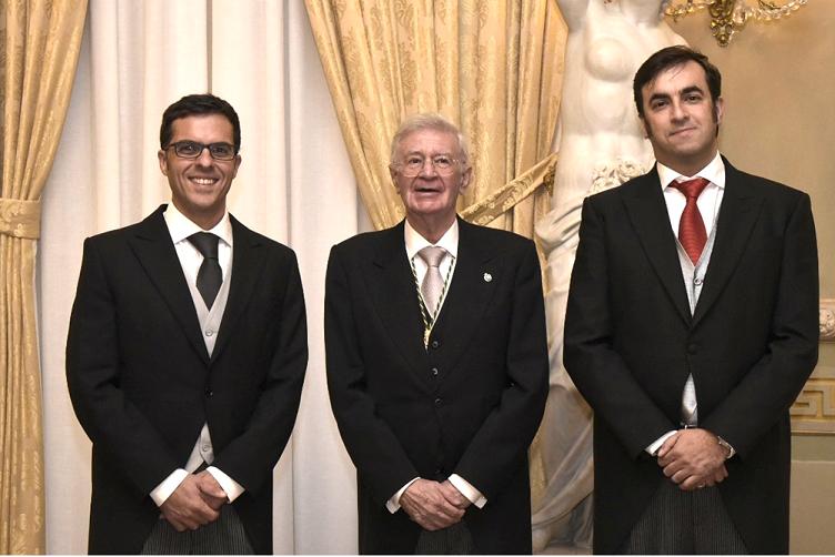 Foto de Premio J.I._J.Alonso Zárate-A.Colino-Raúl Guanche García