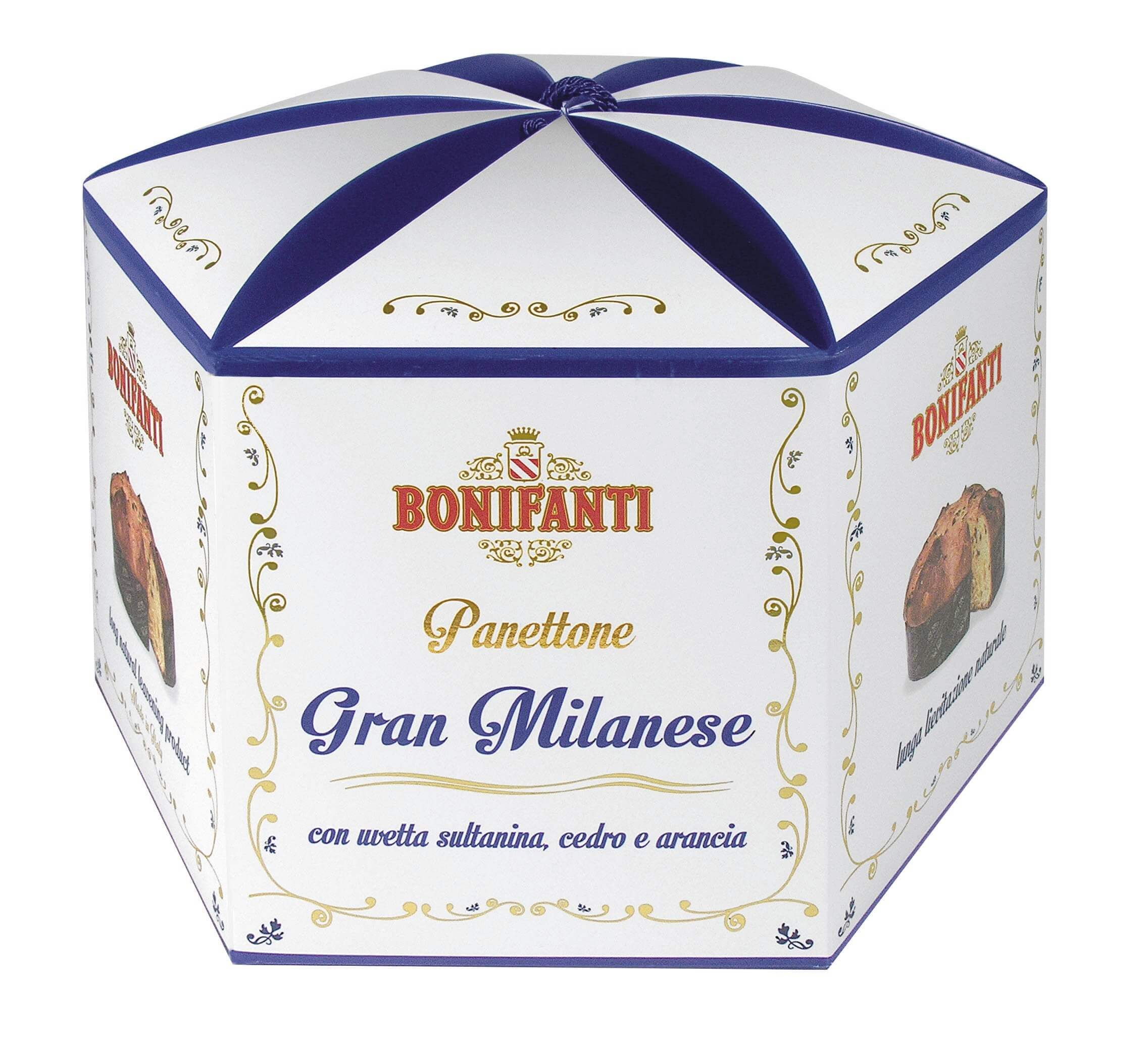 Fotografia packaging panettone