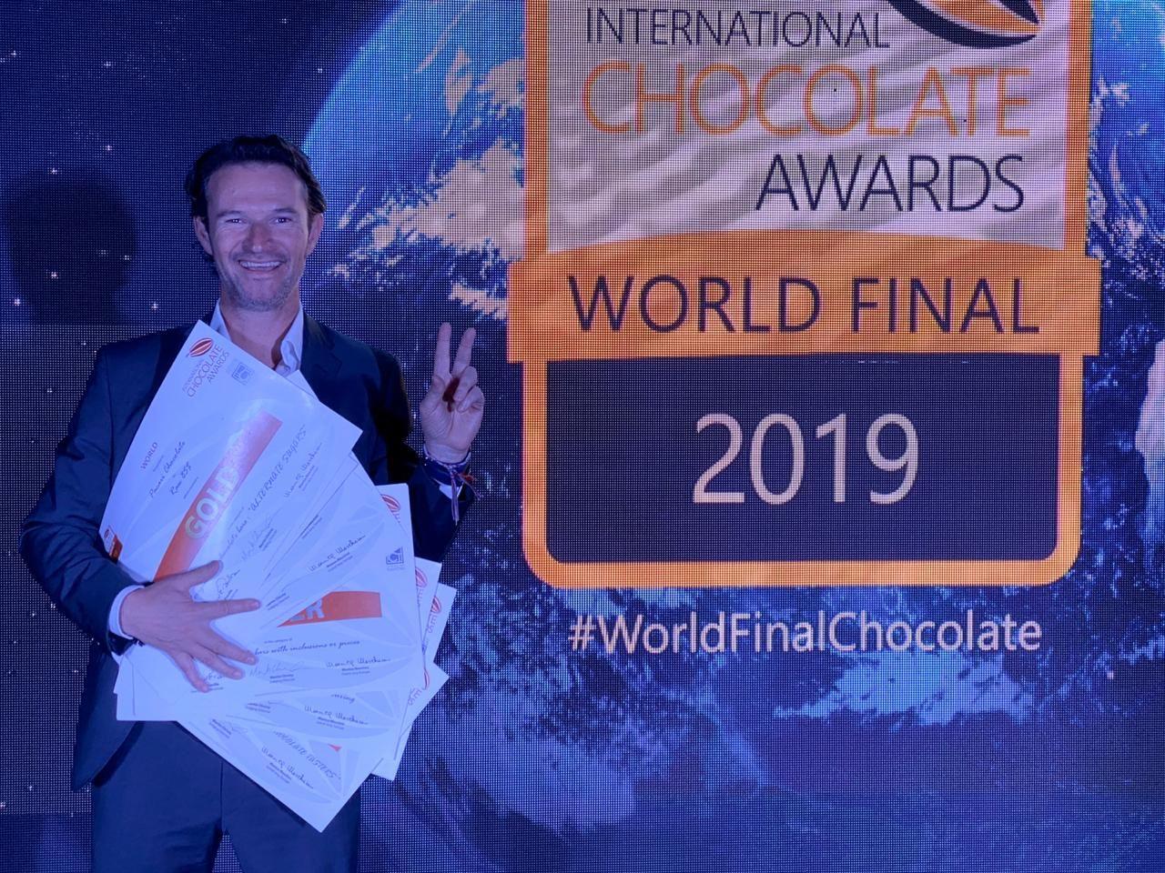 El chocolate ecuatoriano recibe 13 reconocimientos mundiales