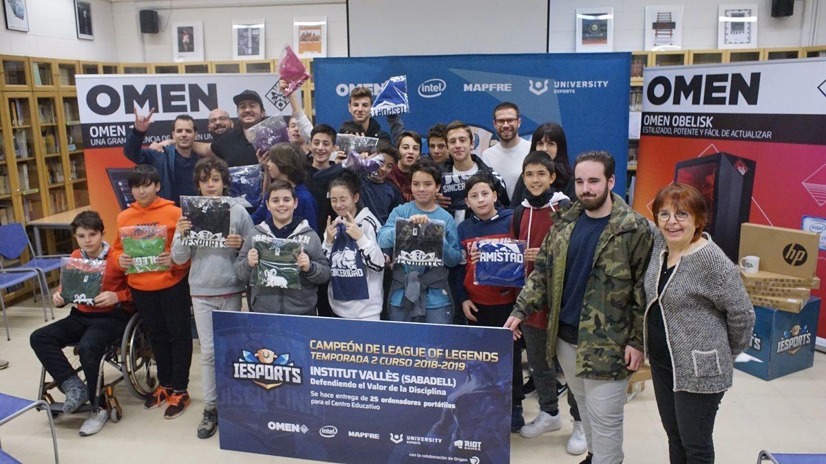 Fotografia IESports - Instituto Sabadell