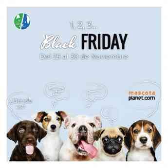 Black Friday en Mascota Planet