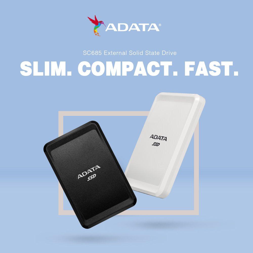Fotografia ADATA pone el mercado su nueva SSD externa SC685