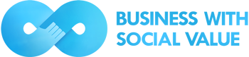 Foto de LOGO BUSINESS WITH SOCIAL VALUE