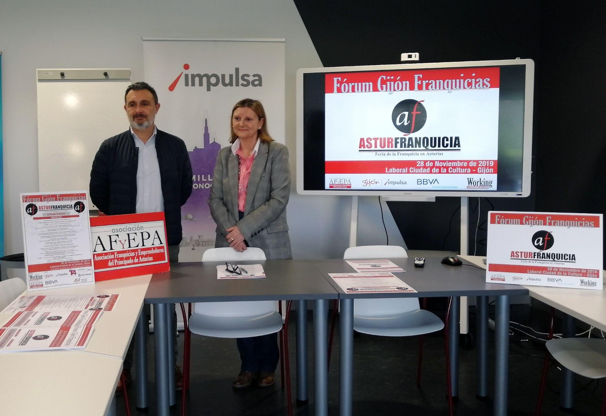Foto de Presentación AsturFranquicia 2019