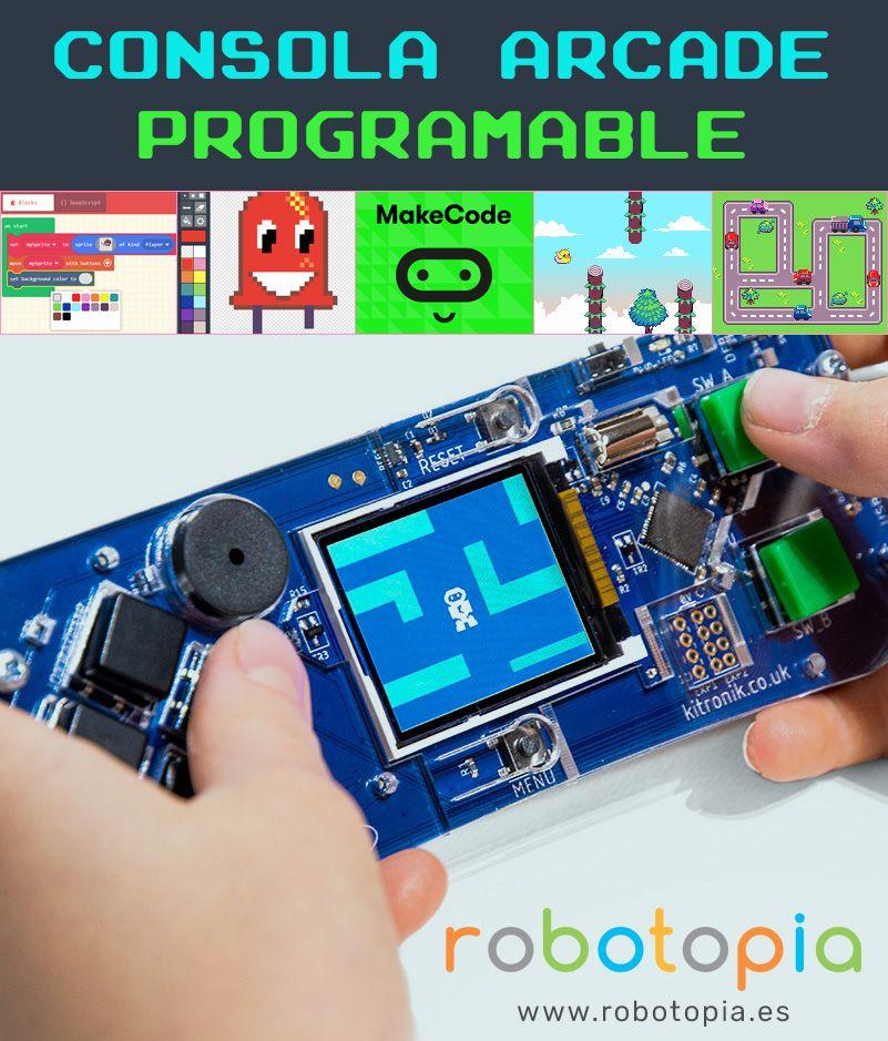 Foto de Consola programable con Makecode Arcade