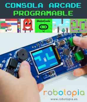 Consola programable con Makecode Arcade