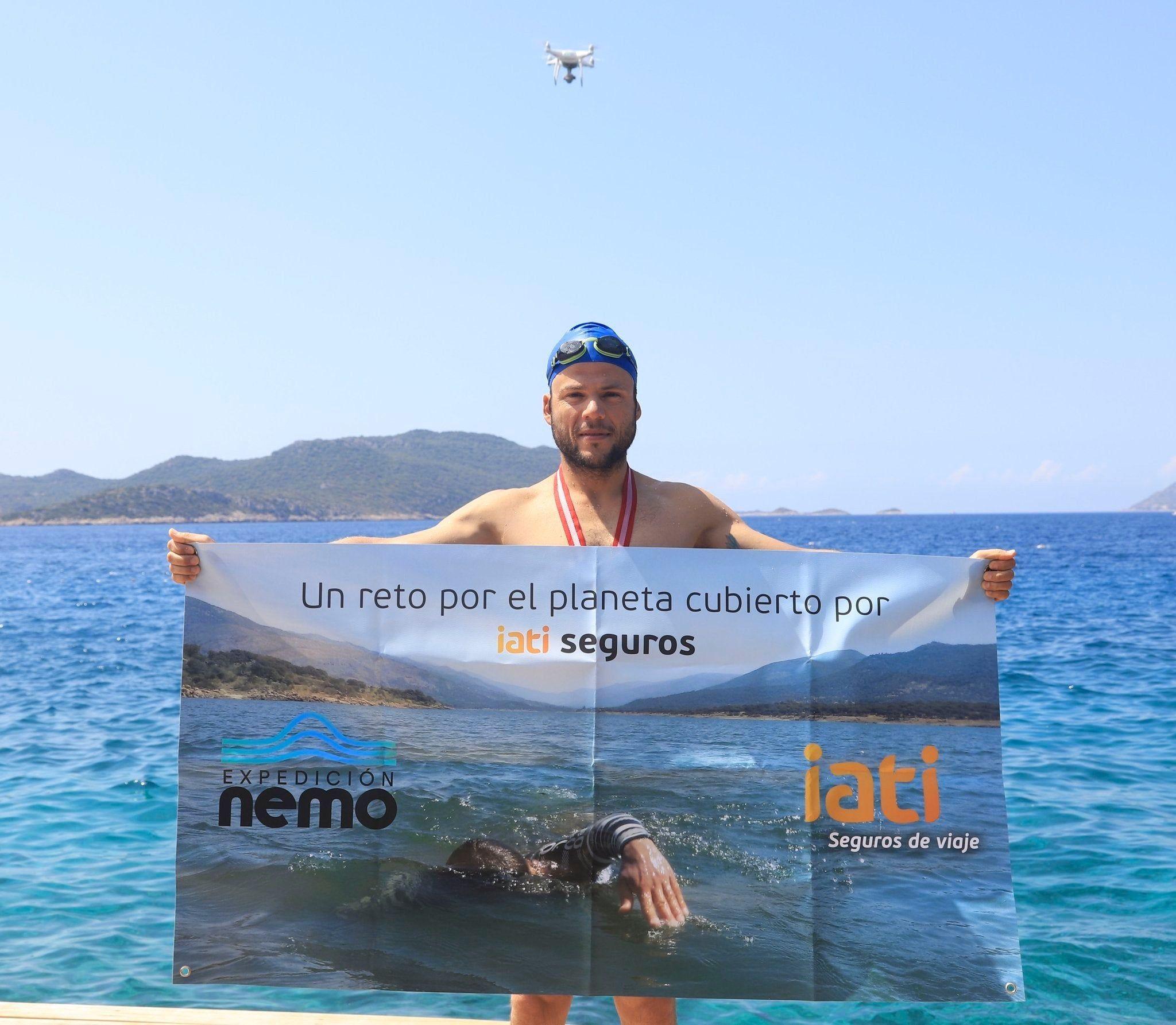 Fotografia Nacho Dean durante la Expedición Nemo