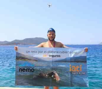 Foto de Nacho Dean durante la Expedición Nemo