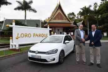 Loro Parque Fundación apuesta por la movilidad sostenible con un vehículo 100% eléctrico