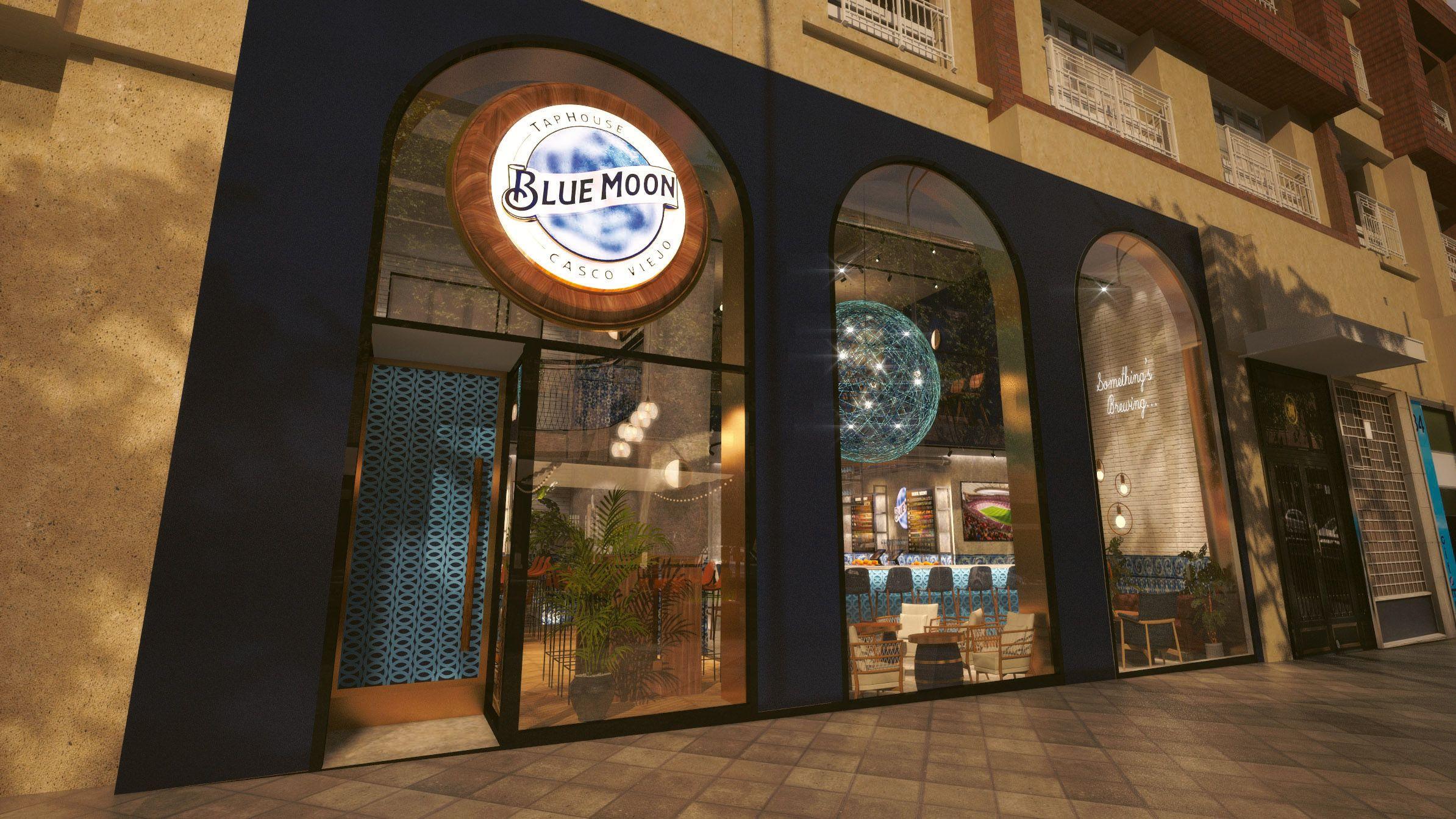 Cerveza artesanal y cocina internacional en el primer Blue Moon de Europa, en Madrid