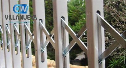 Fotografia Rejas de alta seguridad de aluminio