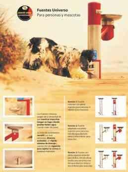 Fuentes debederos línea UNIVERSO para personas y sus mascotas