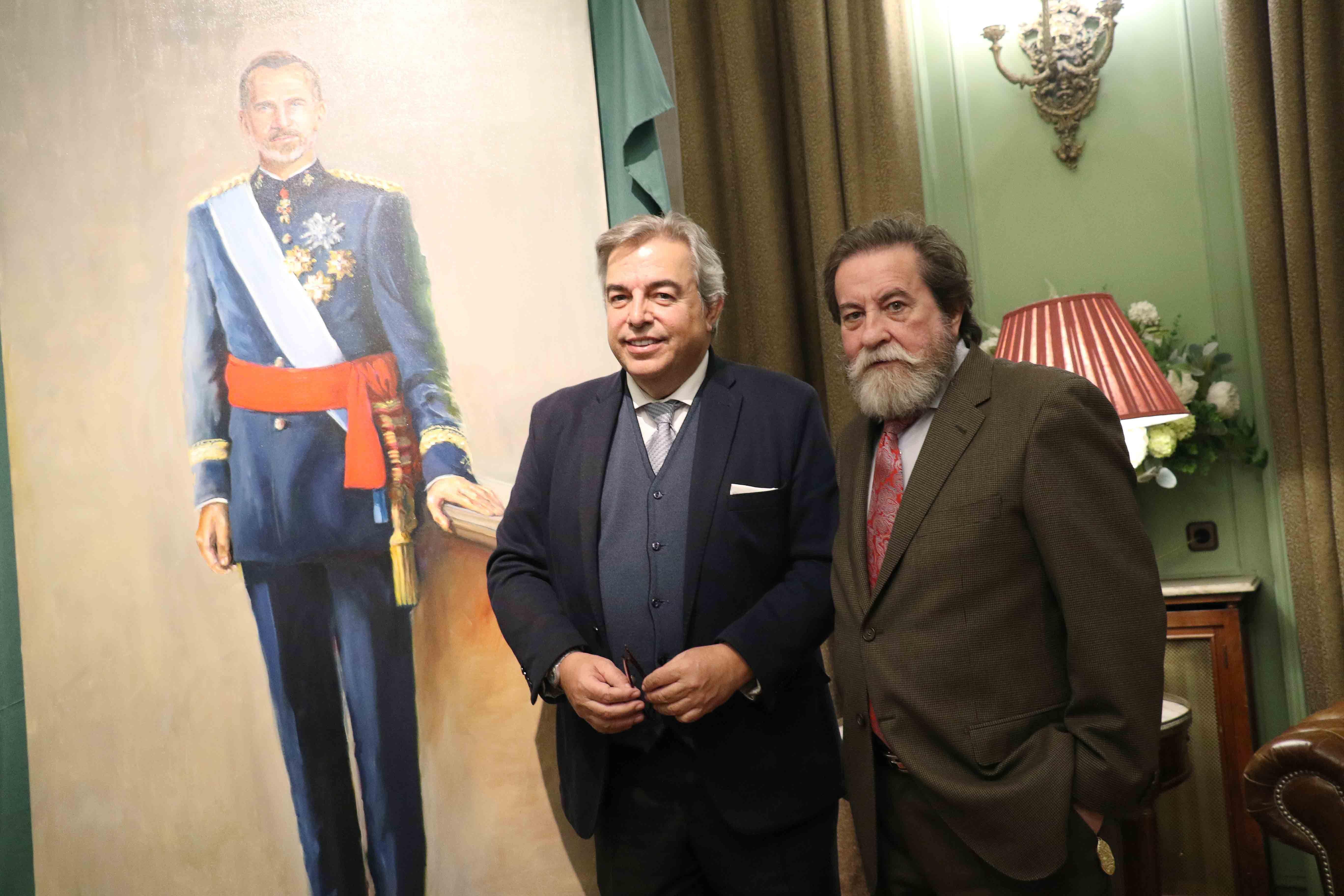Foto de Emilio Fernández-Galiano y José Gabriel Astudillo