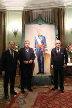 Foto de Miguel Ayuso, Emilio Fernandez Galiano y Alfonso Gallego