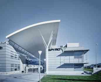 Imagen de la sede central de SPYRO en el Parque Científico y Tecnológico de Gipuzkoa.