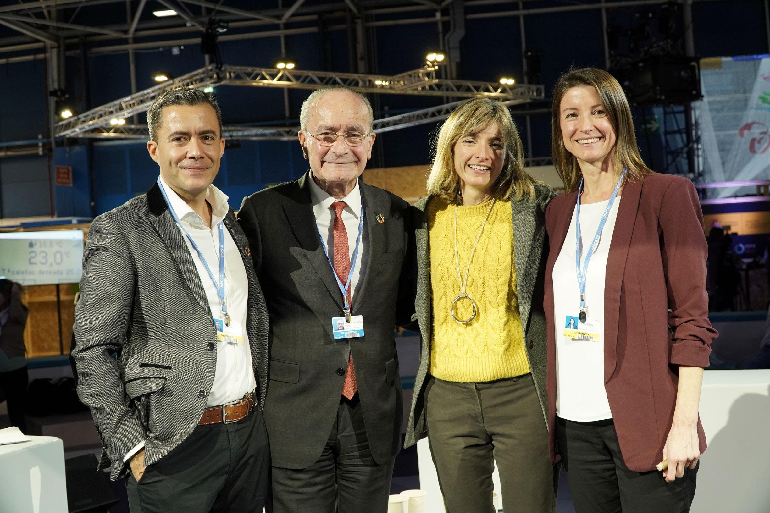 Foto de De izda. a dcha.: Diego Isabel, Francisco de la Torres,